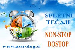 Doživljenjski non-stop dostop do astroloških tečajev v spletni učilnici pod mentorstvom Irene Stopar