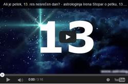 Ali je petek, 13. res nesrečen dan? - intervju z astrologinjo Ireno Stopar
