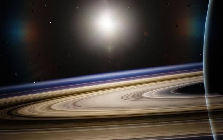 Saturn v kozorogu