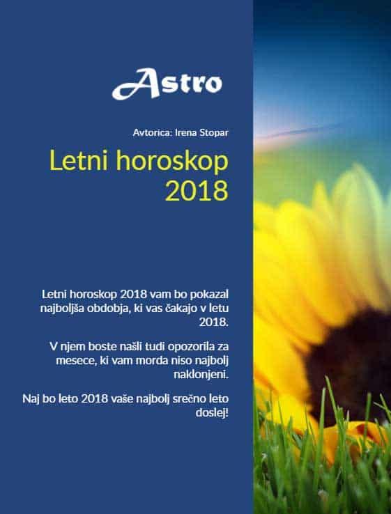 Letni horoskop 2018