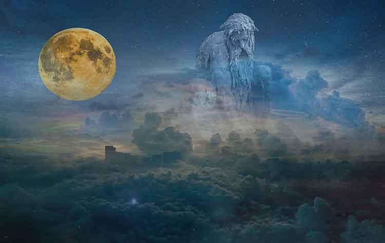 Super krvava modra Luna